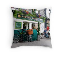 Griffins Bakery,Shop St. Galway. Ireland. Throw Pillow