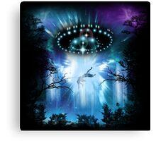 UFO Conquest Canvas Print