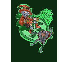 Skull Kid the Puppetmaster Photographic Print