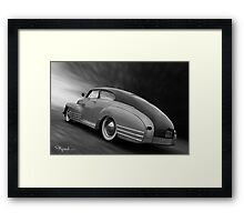 Floor That Chevy Framed Print