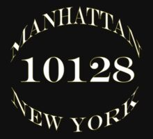 Manhattan New York, 10128 One Piece - Short Sleeve