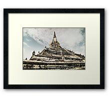 Ayutthaya Framed Print