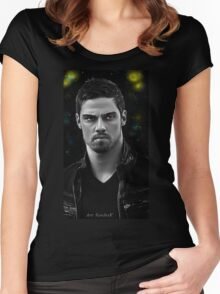 Vincent searching for his star Women's Fitted Scoop T-Shirt