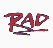 Rad from the movie (RAD!) by BUB THE ZOMBIE