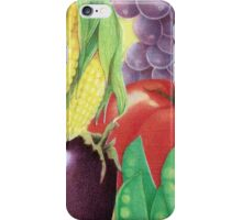Delicious Vegetables  iPhone Case/Skin