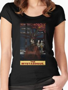 The Mystagogue: Circus Tarot by Duck Soup Productions Women's Fitted Scoop T-Shirt