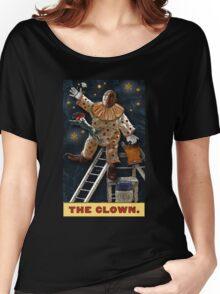 The Clown: Circus Tarot by Duck Soup Productions Women's Relaxed Fit T-Shirt