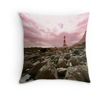 Beauty by the sea Throw Pillow