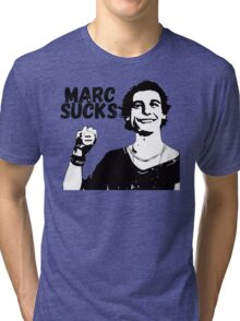 Marc Sucks Empire Records Tri-blend T-Shirt