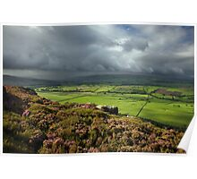 Raining Over In Skipton Poster
