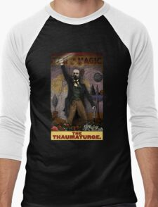 The Thaumaturge: Circus Tarot by Duck Soup Productions Men's Baseball ¾ T-Shirt
