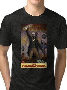 The Thaumaturge: Circus Tarot by Duck Soup Productions Tri-blend T-Shirt