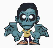 Zombie cartoon Baby Tee