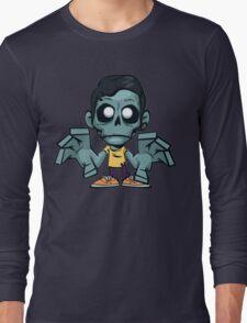 Zombie cartoon Long Sleeve T-Shirt