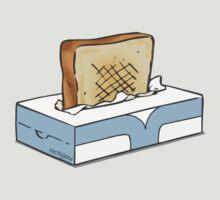 nichijou toast tissue box anime manga shirt by ToDum2Lov3