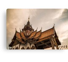 Buddha temple Canvas Print