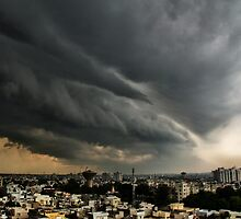 A Storm passing by by Biren Brahmbhatt