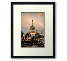 Great Buddha Temple Framed Print