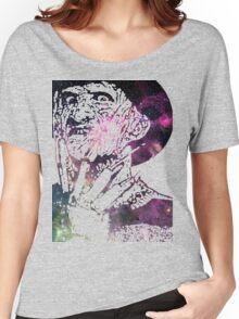 Galaxy Robert Englund Freddy Krueger Women's Relaxed Fit T-Shirt