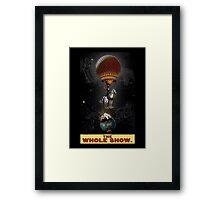 Tarot of the Zircus Magi - The World Framed Print