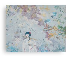 Japanese Melody Canvas Print