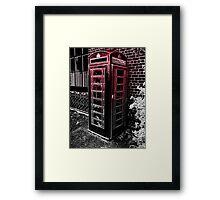 Boring British Bobbins Framed Print