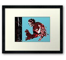 Tetsuo Framed Print