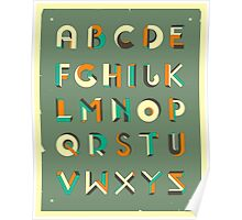 IMPOSSIBLE ALPHABET Poster