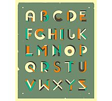 IMPOSSIBLE ALPHABET Photographic Print