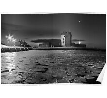 Broughty Castle Ice Poster