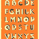 IMPOSSIBLE ALPHABET by JazzberryBlue