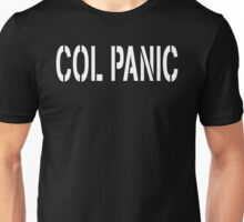 COL PANIC - Punny White on Black Design for Unix/Linux Geeks Unisex T-Shirt