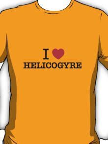 I Love HELICOGYRE T-Shirt