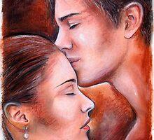 Gentle kiss by jankolas