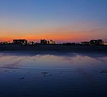 Wildwood Strip Sunset by Jessica Liatys