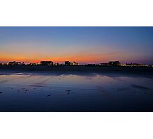 Wildwood Strip Sunset Photographic Print
