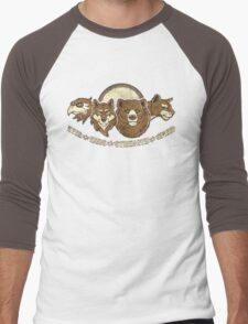 Spirit Guides  Men's Baseball ¾ T-Shirt