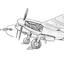 Mossie engine. Photographic Print