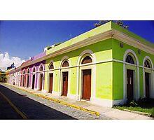 Old San Juan Colours, Puerto Rico Photographic Print