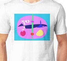 Blue Sky Lavender World Unisex T-Shirt