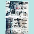 Taylor Swift 1989 Lyrics by ashy1318