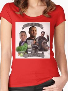 The Joe Rogan Experience - Colour  Women's Fitted Scoop T-Shirt