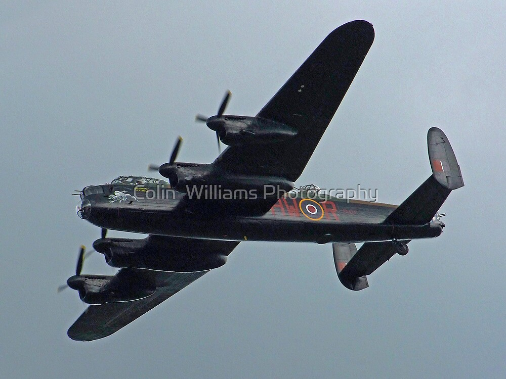 BBMF Lancaster Dunsfold by Colin  Williams Photography