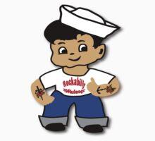 Kid Billy as Rockabilly Rebel by patjila