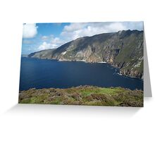 Slieve League Greeting Card