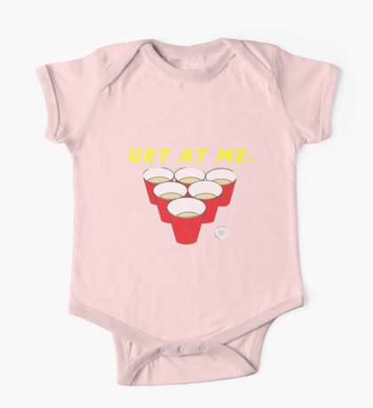 Beer Pong Shirt One Piece - Short Sleeve