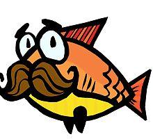 Mustache Fish by thelittleoldman