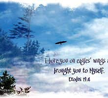 On Eagles' wings by Olga