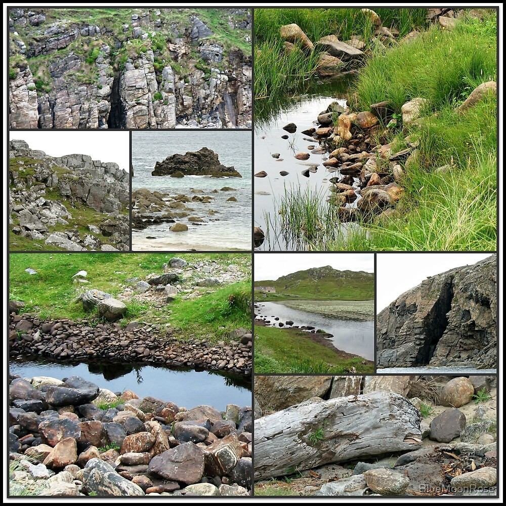 Rocky Terrain - Wild Nature Collage by BlueMoonRose