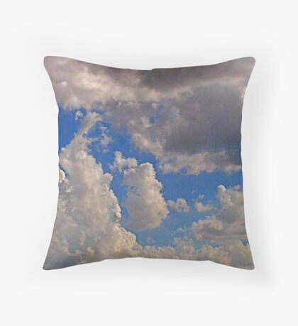 Cumulonimbus 3 Throw Pillow